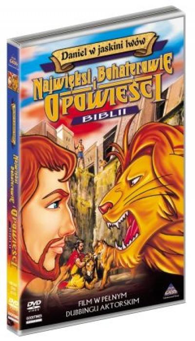 Daniel w jaskini lwów - Najwięksi Bohaterowie i Opowieści w Biblii
