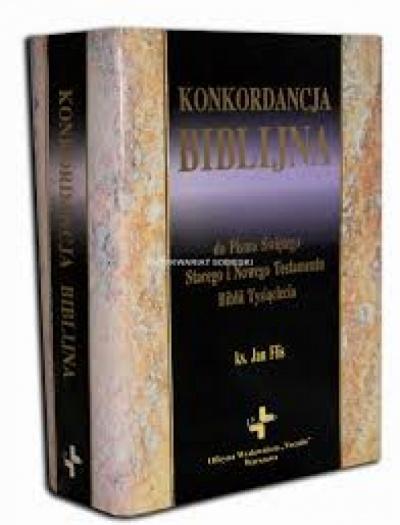 Konkordacja Biblijna - Flis Jan