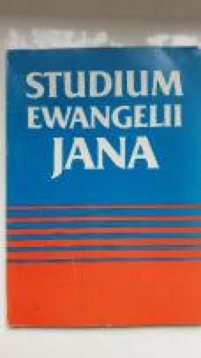 Studium Ewangelii Jana -