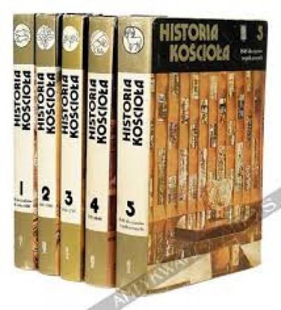 Historia Kościoła cz.5 /1848 do czasów współczesnych/ - Roger Aubert, P.E.Crunican, J.Tracy Ellis,F.B Pike, J.Bruls, J. Hajjar.