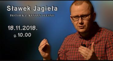 Wizyta Pastora Sławka Jagieły
