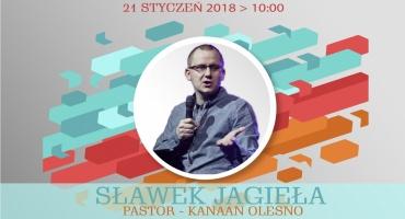 Pastor Sławek Jagieła